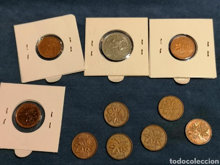 Monedas antiguas de América: Lote 10 monedas Canada algunas Sin Circular - Foto 2 - 261857050
