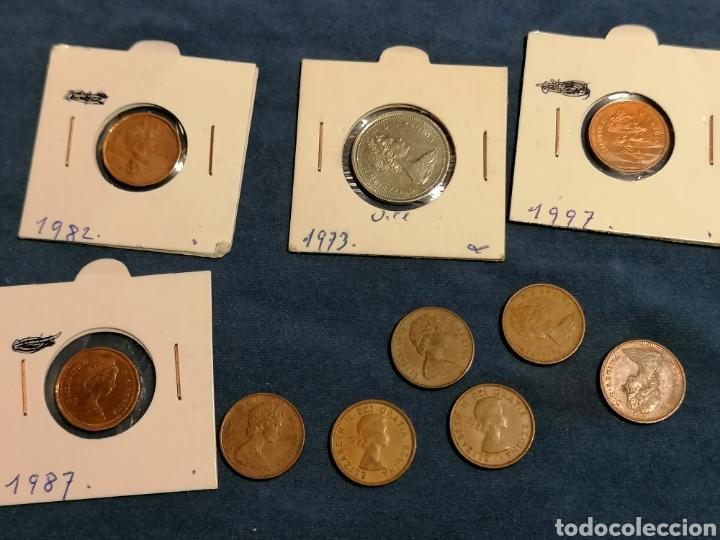 LOTE 10 MONEDAS CANADA ALGUNAS SIN CIRCULAR (Numismática - Extranjeras - América)
