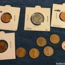 Monedas antiguas de América: LOTE 10 MONEDAS CANADA ALGUNAS SIN CIRCULAR. Lote 261857050