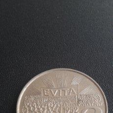 Monedas antiguas de América: MONEDA ARGENTINA CONMEMORATIVA DE EVA DUARTE DE PERON. Lote 262006785