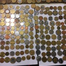 Monedas antiguas de América: LOTE DE 200 MONEDAS , PRINCIPALMENTE DE URUGUAY,BRASIL Y ARGENTINA ,DESDE LOS AÑOS 90. Lote 262551695