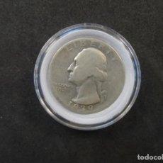 Monedas antiguas de América: QUARTER DOLLAR DE PLATA. ESTADOS UNIDOS DE AMERICA. AÑO 1939. CECA D. Lote 262603755