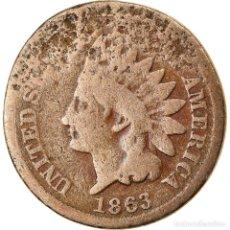 Monedas antiguas de América: MONEDA, ESTADOS UNIDOS, INDIAN HEAD CENT, CENT, 1863, U.S. MINT, PHILADELPHIA. Lote 262726585