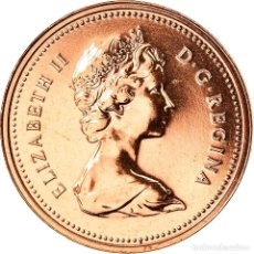 Monedas antiguas de América: MONEDA, CANADÁ, ELIZABETH II, CENT, 1979, ROYAL CANADIAN MINT, OTTAWA, FDC. Lote 262727085