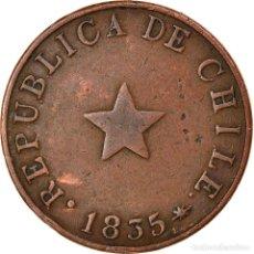 Monedas antiguas de América: MONEDA, CHILE, 1/2 CENTAVO, 1835, MBC, COBRE, KM:114. Lote 262729875