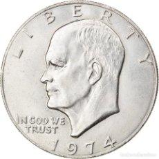 Monedas antiguas de América: MONEDA, ESTADOS UNIDOS, EISENHOWER DOLLAR, DOLLAR, 1974, U.S. MINT. Lote 262730050