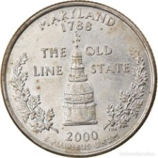 Monedas antiguas de América: MONEDA, ESTADOS UNIDOS, QUARTER, 2000, U.S. MINT, DENVER, MBC, COBRE - NÍQUEL. Lote 262732375