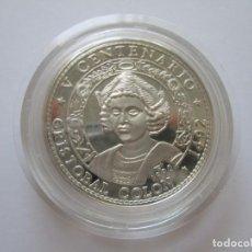 Monete antiche di America: CUBA * 10 PESOS 1990 * CRISTOBAL COLON * 1 ONZA DE PLATA. Lote 209721455
