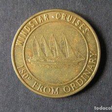 Monedas antiguas de América: FICHA-TOKEN 25 CENTAVOS - CRUZEROS WINDSTAR. Lote 263156185
