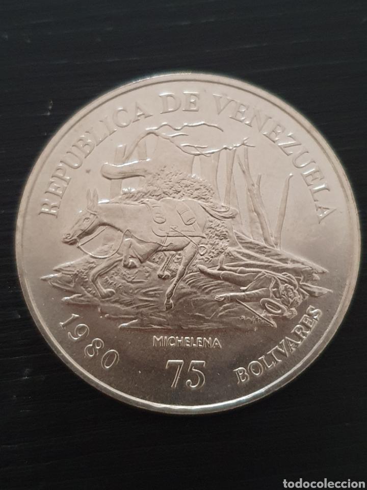 Monedas antiguas de América: Moneda conmerativa de los 150 años de la muerte de Sucre. Envío certificado solamente. 6€ - Foto 2 - 209955846