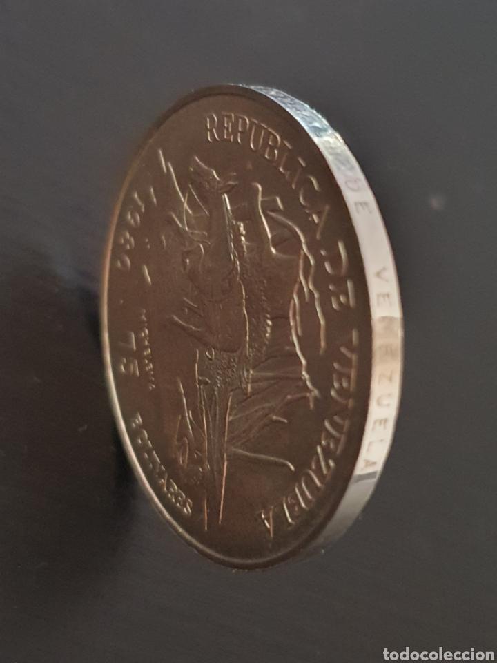 Monedas antiguas de América: Moneda conmerativa de la muerte de Sucre. - Foto 3 - 242980200