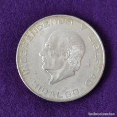 Monedas antiguas de América: MONEDA DE MEXICO MEJICO. 10 PESOS. HIDALGO. 1955. PLATA 900. SIN CIRCULAR.. Lote 263286715