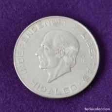 Moedas antigas da América: MONEDA DE MEXICO MEJICO. 10 PESOS. HIDALGO. 1956. PLATA 900. SIN CIRCULAR.. Lote 263286815