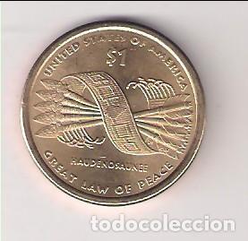 MONEDA DE 1 DÓLAR (SACAJAWEA) DE ESTADOS UNIDOS DE 2010-D. SIN CIRCULAR. (ME215) (Numismática - Extranjeras - América)