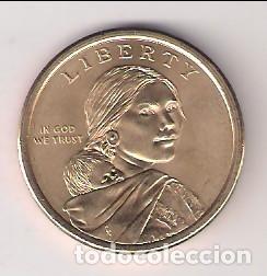 Monedas antiguas de América: MONEDA DE 1 DÓLAR (SACAJAWEA) DE ESTADOS UNIDOS DE 2010-D. SIN CIRCULAR. (ME215) - Foto 2 - 263752825
