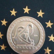 Monedas antiguas de América: ANTIGUA MONEDA 50 DOLLARS 1992 MÉXICO 1/2 ONZA PLATA 999. Lote 263758460