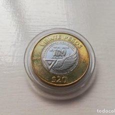 Monedas antiguas de América: MONEDA CONMEMORATIVA 100 AÑOS FUERZA AÉREA MEXICANA. Lote 263765020