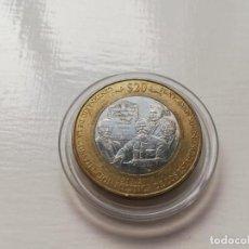 Monedas antiguas de América: MONEDA CONMEMORATIVA DE LA CONSTITUCIÓN MEXICANA. Lote 263766860