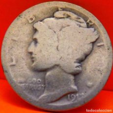 Monedas antiguas de América: ESTADOS UNIDOS, DIME, 1917. PLATA. (FA70). Lote 265112599
