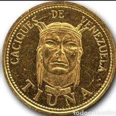 Monedas antiguas de América: CACIQUE TIUNA. 6 GRAMOS 22KTS. Lote 265177819