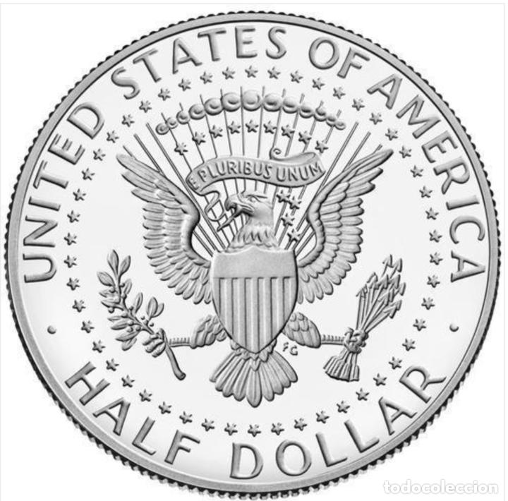 Monedas antiguas de América: USA EEUU 1/2 dolar 2021 Kennedy, sin circular, ceca P (Filadelfia) - Foto 2 - 266340878