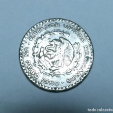 Monnaies anciennes d'Amérique: MONEDA DE PLATA DE 1 PESO DE MEXICO AÑO 1960. Lote 266418828