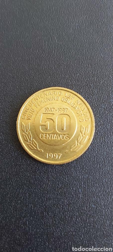 Monedas antiguas de América: Moneda argentina conmemorativa año 1997 Eva Duarte de Peron - Foto 2 - 267655984