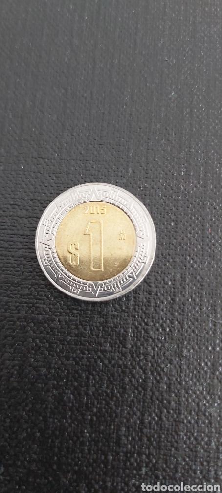 MONEDA DE MEXICO AÑO 2015 (Numismática - Extranjeras - América)