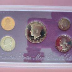Monedas antiguas de América: ESTUCHE MONEDAS USA, ESTADOS UNIDOS 1989. Lote 267773979