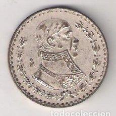 Moedas antigas da América: MONEDA DE 1 PESO DE MÉJICO DE 1961. PLATA. BC. (ME846). Lote 268137034