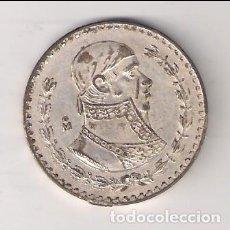 Moedas antigas da América: MONEDA DE 1 PESO DE MÉJICO DE 1965. PLATA. BC. (ME853). Lote 268139604