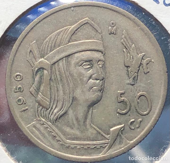 MÉXICO KM449. 50 CENTAVOS 1950 PLATA (Numismática - Extranjeras - América)