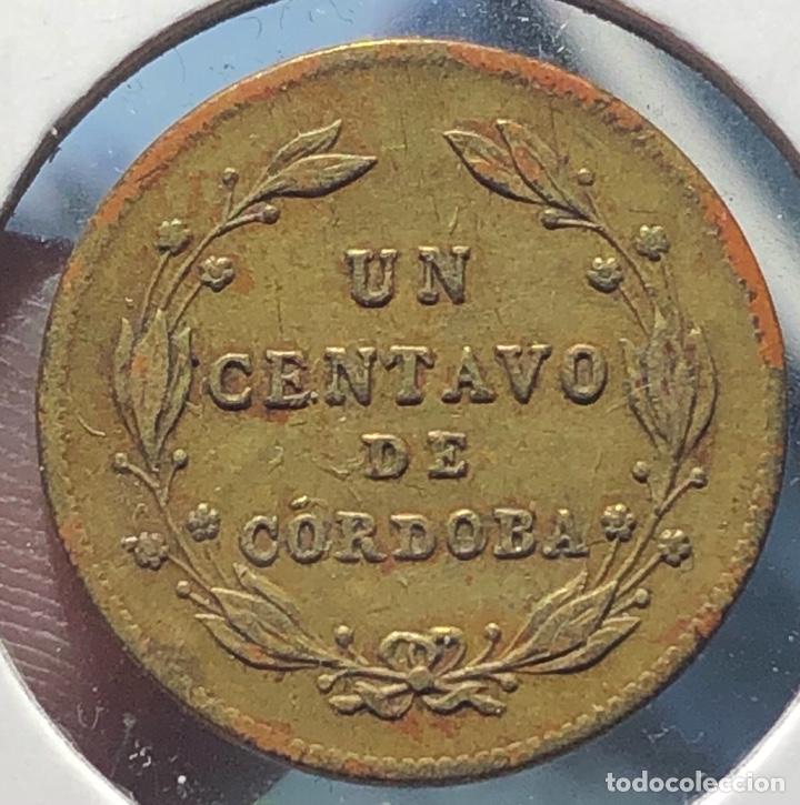Monedas antiguas de América: Nicaragua KM20. 1 Centavo 1943 - Foto 2 - 268476299