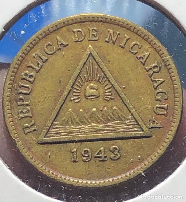 NICARAGUA KM20. 1 CENTAVO 1943 (Numismática - Extranjeras - América)