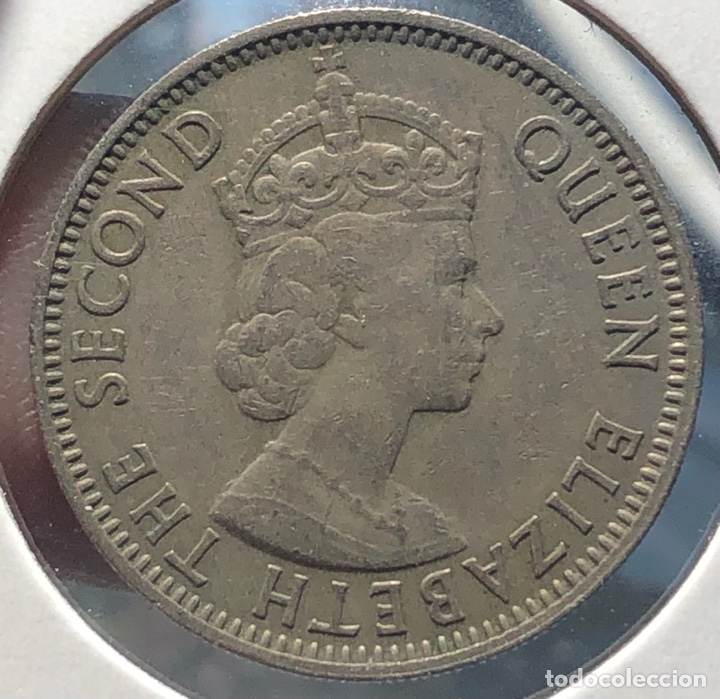 Monedas antiguas de América: Honduras Britanica KM29. 25 Centavos 1970 - Foto 2 - 268476304