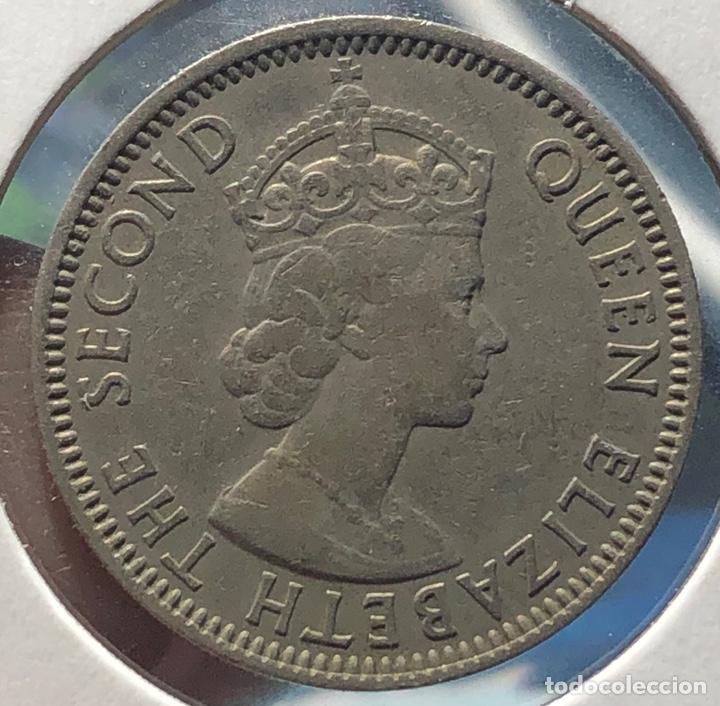Monedas antiguas de América: Honduras Britanica KM29. 25 Centavos 1971 - Foto 2 - 268476309