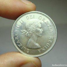 Monedas antiguas de América: 25 CÉNTIMOS. PLATA. CANADÁ - 1962. Lote 268593089