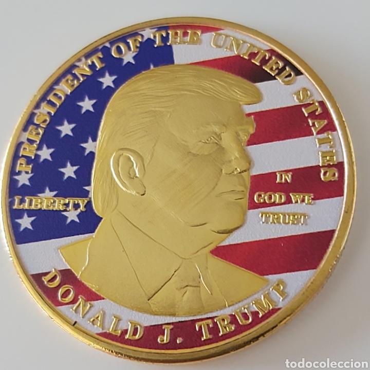 EXCLUSIVA MONEDA DE ORO DE DONALD TRUMP (EDICIÓN LIMITADA) (Numismática - Extranjeras - América)