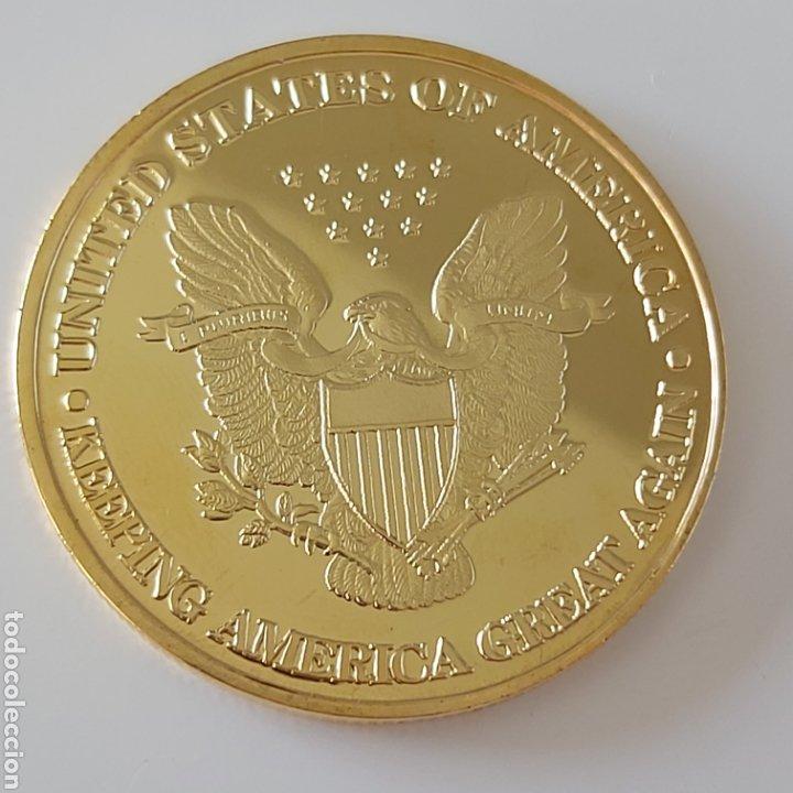 Monedas antiguas de América: EXCLUSIVA MONEDA DE ORO DE DONALD TRUMP (EDICIÓN LIMITADA) - Foto 5 - 268741824
