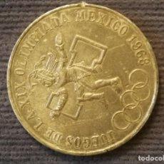 Monedas antiguas de América: MONEDA 25 PESOS JUEGOS DE LA XIX OLIMPIADA MÉXICO 1968. Lote 269000029