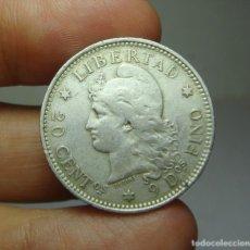 Monedas antiguas de América: 20 CENTAVOS. PLATA. REP. ARGENTINA - 1882. Lote 269143713