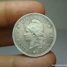 Monedas antiguas de América: 20 CENTAVOS. PLATA. REP. ARGENTINA - 1883. Lote 269146058