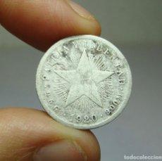 Monedas antiguas de América: 10 CENTAVOS. PLATA. REP. DE CUBA. 1920. Lote 269147233