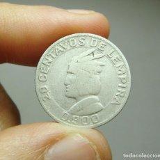 Monedas antiguas de América: 20 CENTAVOS DE LEMPIRA. PLATA. REP. DE HONDURAS - 1952. Lote 269156948