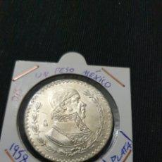 Monedas antiguas de América: ANTIGUA MONEDA PLATA 1 PESO 1958 MÉXICO. Lote 269171128