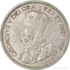 Monedas antiguas de América: [#822452] MONEDA, CANADÁ, GEORGE V, 10 CENTS, 1936, ROYAL CANADIAN MINT, OTTAWA, BC+. Lote 269172993