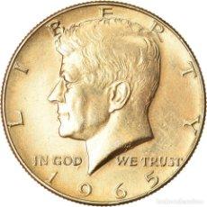 Monedas antiguas de América: [#911125] MONEDA, ESTADOS UNIDOS, KENNEDY HALF DOLLAR, HALF DOLLAR, 1965, U.S. MINT. Lote 269174138