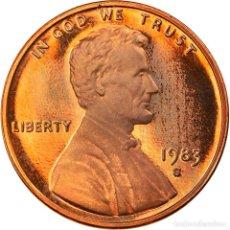 Monedas antiguas de América: [#919960] MONEDA, ESTADOS UNIDOS, LINCOLN CENT, CENT, 1983, U.S. MINT, SAN FRANCISCO. Lote 269178888