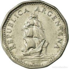 Monedas antiguas de América: [#723496] MONEDA, ARGENTINA, 5 PESOS, 1962, MBC, NÍQUEL RECUBIERTO DE ACERO, KM:59. Lote 269179078