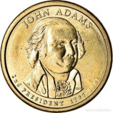 Monedas antiguas de América: [#773066] MONEDA, ESTADOS UNIDOS, DOLLAR, 2007, U.S. MINT, DENVER, JOHN ADAMS, EBC, COBRE. Lote 269179608